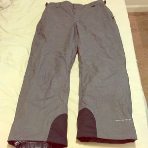 Men's Columbia snowboard ski pants sz L